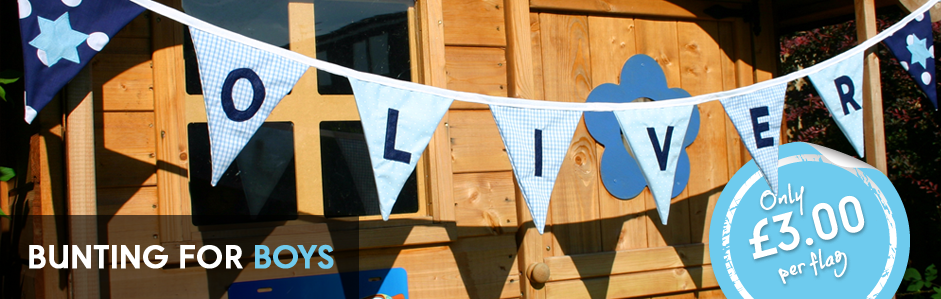 bunting_for_boys
