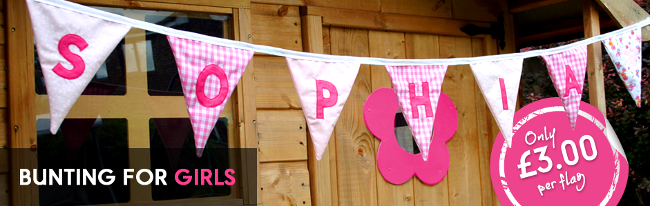 Bunting for girls