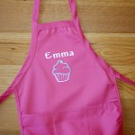 Girls Personalised Kids Apron