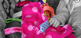 Emma Baby Taggie Blanket