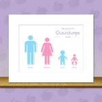 Personalised Family Wall Art