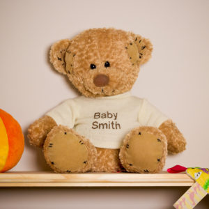 Personalised Baby Teddy Bear