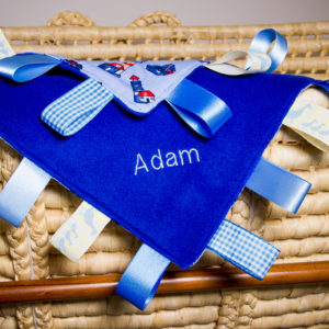 Personalised Tag Blanket