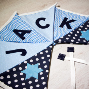 Classic Baby Boy Bunting