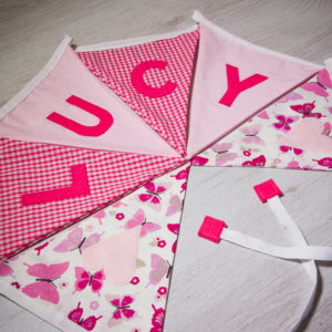 Classic Baby Girl Bunting