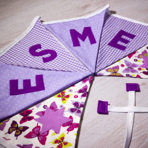 Purple Flag Bunting