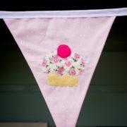 Cupcake Flag Bunting